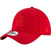 New Era Men's St. Louis Cardinals 39Thirty Tone Tech Red Flex Hat