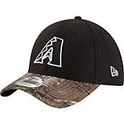 New Era Men's Arizona Diamondbacks 39Thirty Diamond Era Black/Camo Flex Hat