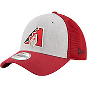 New Era Men's Arizona Diamondbacks 39Thirty Heather Grey Neo Flex Hat