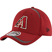 New Era Men's Arizona Diamondbacks 39Thirty Red Reflectaline Flex Hat