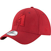 New Era Men's Arizona Diamondbacks 39Thirty Diamond Era Tone Tech Red Flex Hat