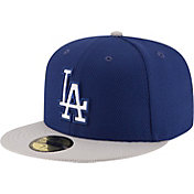 New Era Men's Los Angeles Dodgers 59Fifty Diamond Era Road Royal Fitted Hat