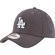 New Era Men's Los Angeles Dodgers 39Thirty Tone Tech Grey Flex Hat