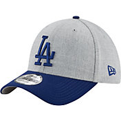 New Era Men's Los Angeles Dodgers 39Thirty Change Up Redux Grey Stretch Fit Hat