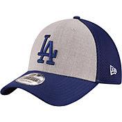New Era Men's Los Angeles Dodgers 39Thirty Heather Grey Neo Flex Hat