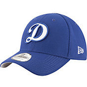 New Era Men's Los Angeles Dodgers 39Thirty Diamond Era Royal Stretch Fit Hat