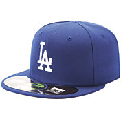New Era Men's Los Angeles Dodgers 59Fifty Game Royal Authentic Hat