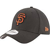 New Era Men's San Francisco Giants 39Thirty Diamond Era Black Stretch Fit Hat