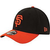 New Era Men's San Francisco Giants 39Thirty Alternate Classic Black Stretch Fit Hat