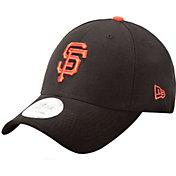 New Era Men's San Francisco Giants 9Forty Pinch Hitter Black Adjustable Hat