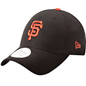 New Era Men's San Francisco Giants 9Forty Pinch Hitter Black Adjustable Hat