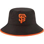 New Era Men's San Francisco Giants Black Team Bucket Hat