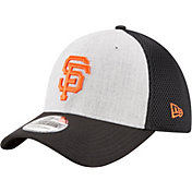 New Era Men's San Francisco Giants 39Thirty Heather Grey Neo Flex Hat
