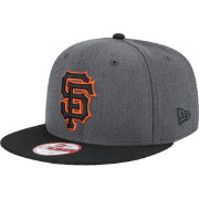 New Era Men's San Francisco Giants 9Fifty Grey/Black Adjustable Hat