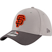 New Era Men's San Francisco Giants 39Thirty Diamond Era Grey Stretch Fit Hat