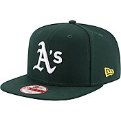 New Era Men's Oakland Athletics 9Fifty Green Block Back Adjustable Hat