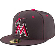 New Era Men's Miami Marlins 59Fifty 2016 Mother's Day Authentic Hat
