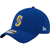 New Era Men's Seattle Mariners 39Thirty Royal Classic Stretch Fit Hat