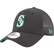 New Era Men's Seattle Mariners 9Forty Perf Pivot Adjustable Hat