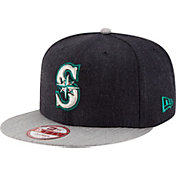 New Era Men's Seattle Mariners 9Fifty Heather Action Adjustable Hat