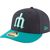 New Era Men's Seattle Mariners 59Fifty Diamond Era Navy Low Crown Fitted Hat
