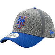 New Era Men's New York Mets 39Thirty Clubhouse Grey/Grey Flex Hat