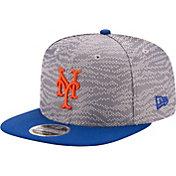 New Era Men's New York Mets 9Fifty Weave Mix Grey Adjustable Hat
