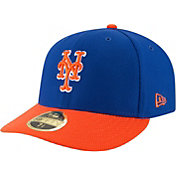 New Era Men's New York Mets 59Fifty Diamond Era Orange Low Crown Fitted Hat