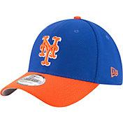 New Era Men's New York Mets 39Thirty Diamond Era Royal/Orange Flex Hat