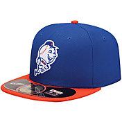 New Era Men's New York Mets 59Fifty Diamond Era Royal Batting Practice Hat