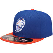 New Era Men's New York Mets 59Fifty Diamond Era Royal Batting Practice Hat