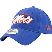 New Era Men's New York Mets 9Twenty Script Royal Adjustable Hat