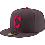 New Era Men's Cleveland Indians 59Fifty 2016 Mother's Day Authentic Hat