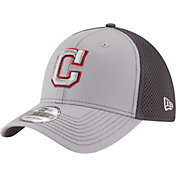 New Era Men's Cleveland Indians 39Thirty Grayed Out Grey Stretch Fit Hat
