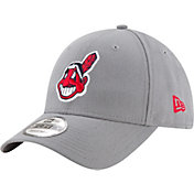 New Era Men's Cleveland Indians 9Forty Grey Adjustable Hat