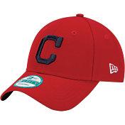New Era Men's Cleveland Indians 9Forty Red Adjustable Hat
