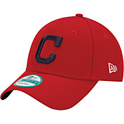 New Era Men's Cleveland Indians 9Forty Red Adjustable Hat