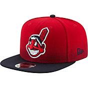 New Era Men's Cleveland Indians 9Fifty Flow Team Adjustable Hat
