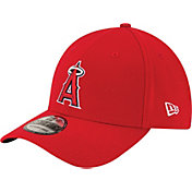 New Era Men's Los Angeles Angels 39Thirty Classic Red Flex Hat