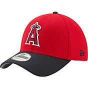 New Era Men's Los Angeles Angels 39Thirty Diamond Era Red Flex Hat