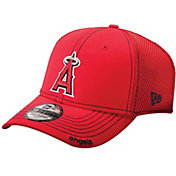 New Era Men's Los Angeles Angels 39Thirty Red Neo Flex Hat