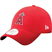 New Era Men's Los Angeles Angels 9Forty Pinch Hitter Red Adjustable Hat