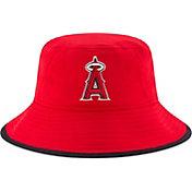 New Era Men's Los Angeles Angels Red Team Bucket Hat