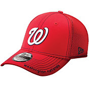 New Era Men's Washington Nationals 39Thirty Neo Red Flex Hat