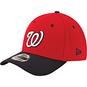 New Era Men's Washington Nationals 39Thirty Alternate Classic Navy Stretch Fit Hat
