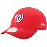 New Era Men's Washington Nationals 9Forty Pinch Hitter Red Adjustable Hat