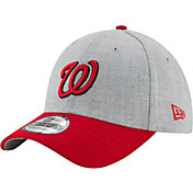 New Era Men's Washington Nationals 39Thirty Change Up Redux Grey Flex Hat