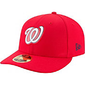 New Era Men's Washington Nationals 59Fifty Diamond Era Red Low Crown Fitted Hat