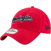 New Era Women's Washington Nationals 9Twenty Script Red Adjustable Hat