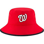 New Era Men's Washington Nationals Red Team Bucket Hat